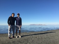 Salt Lake with Thomas