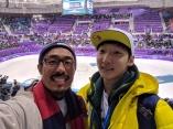 Pyeongchang with Andy