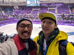 Pyeongchang with Andy