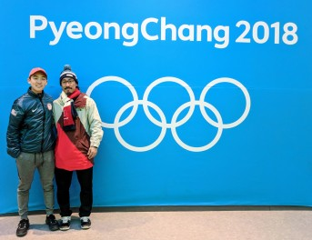 Pyeongchang with Thomas